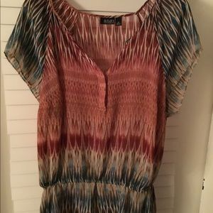 Ana Multi Colored Tunic